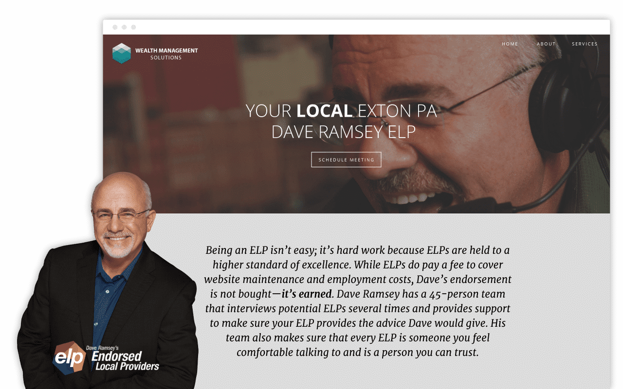 Dave Ramsey ELP Pages